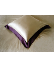 Boston purple pillow case