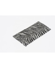 scarf with zebra print