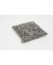 cushion cover in zebra print