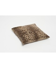 cushion cover in leopard print